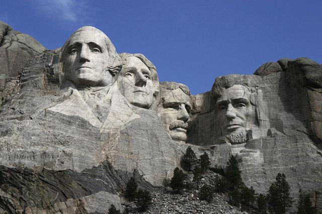 Mount Rushmore Memorial in South Dacota