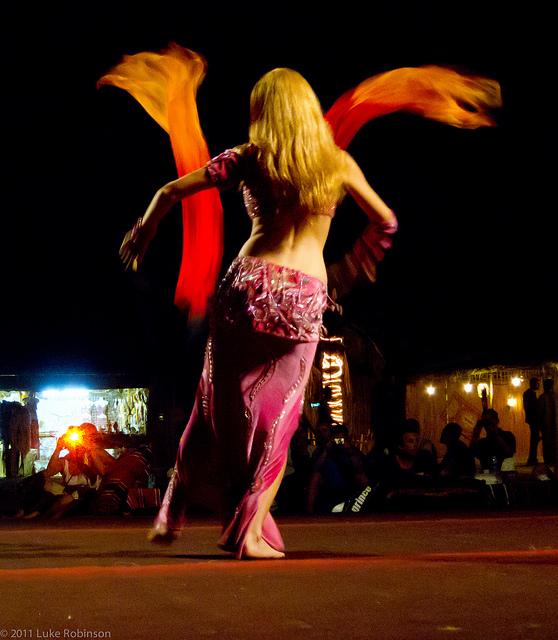 Wonderful image of Belly Dance. By Luke Robinson