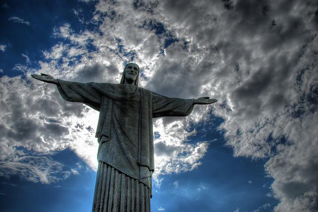 Christ the Redeemer: (Christo redemptor) in Rio de Janeiro-Brazil. Image : Chris McDaniel