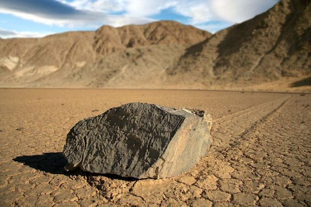 Sliding Rocks of Death Valley