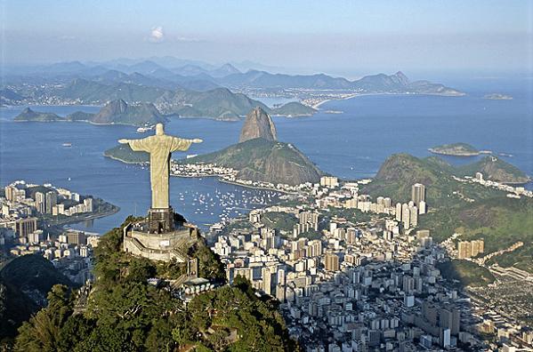 Christ the Redeemer at Rio de Janeiro