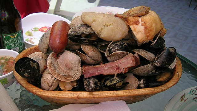 Curatno, Traditional Food of Chile