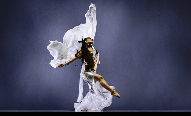 Flamenco Dance of Gypsies in Spain