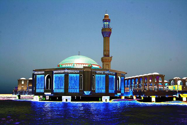 The Floating Mosque at Jeddah, KSA - Image: Ahmed Shokeir
