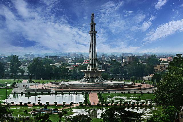 Minar-e-Pakistan in Lahore, Pakistan ( Image: Khalil-ur-Rehman Waleed )