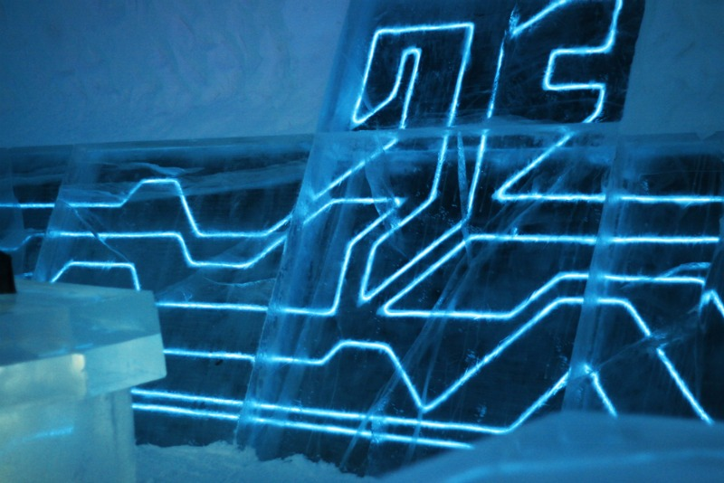 Tron Legacy of the River Ice Hotel Suite