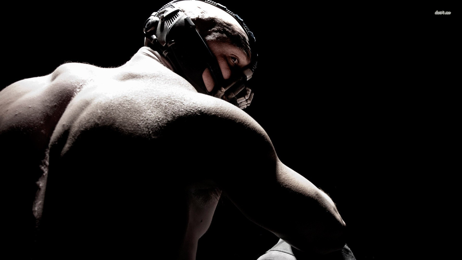 Bane Dark Knight Rises Tom Hardy Mutually