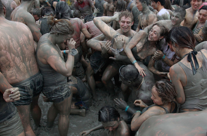 15th Annual Boryeong Mud Festival Takes Place
