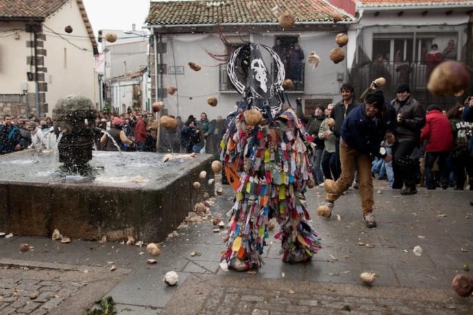 Jarramplas Festival Held In Piornal