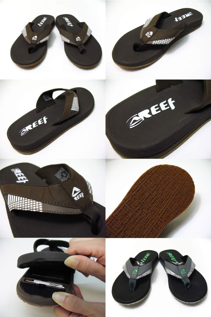 525812f44a1 Hide Your Valuables in the Reef Stash Sandals – Mutually