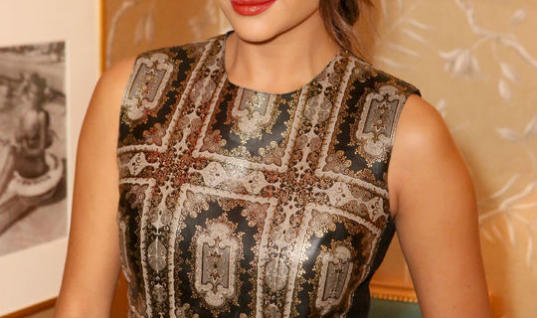 Must Have: Shay Mitchell's Fall-Perfect Orange Pout