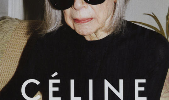 Celine Spring 2015 Campaign: Who is Joan Didion?