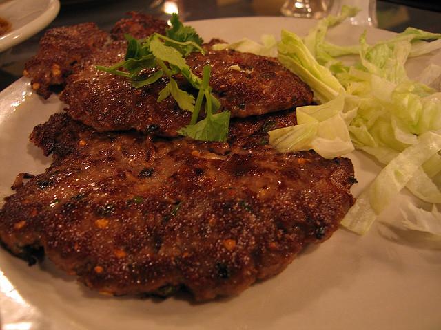 Chapli Kebab or Chappal Kabab: A fatty food delight - Image by MMChicago