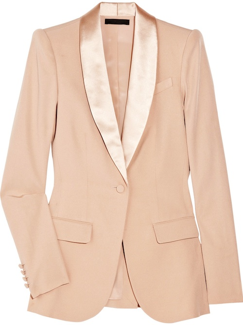 The-Row-Kevington-Silk-Blush-Blazer