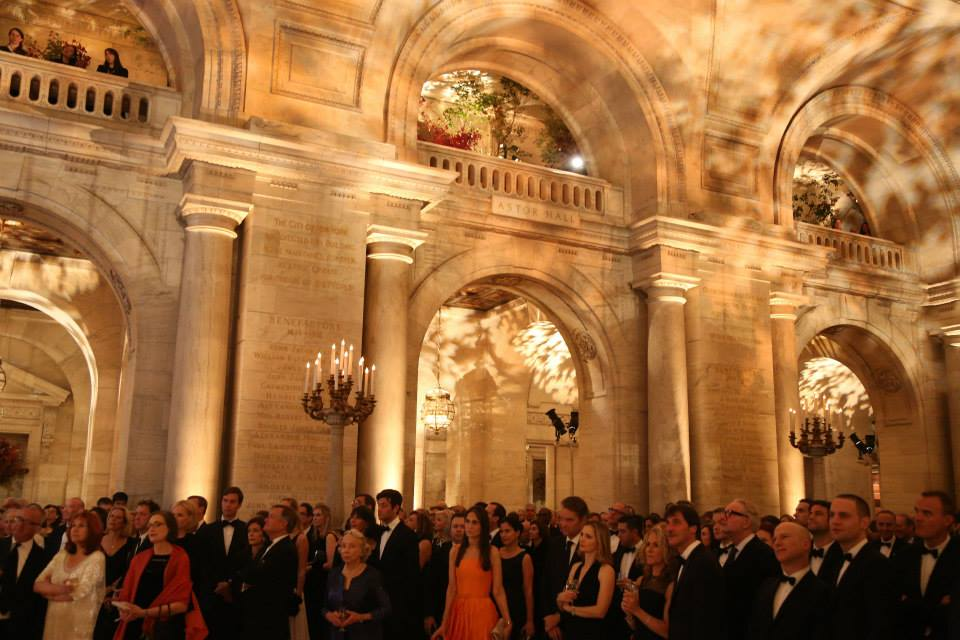 Get married at the New York Public Library.