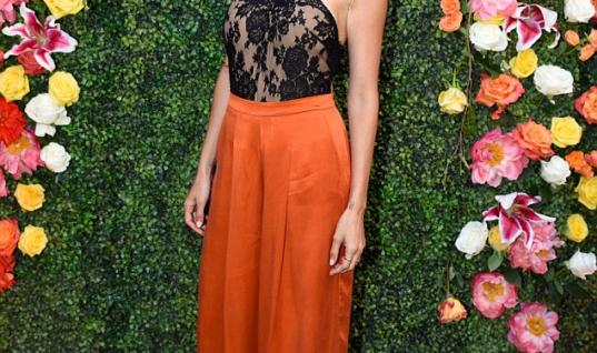 Nicole Richie Rocks the Red Carpet in Lace