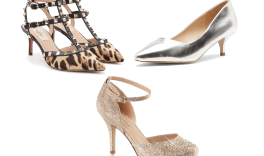 Holiday Style: Kitten Heels That Aren't Horrible