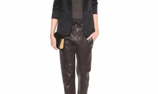 Edgy Leather Duds to Rock This Weekend