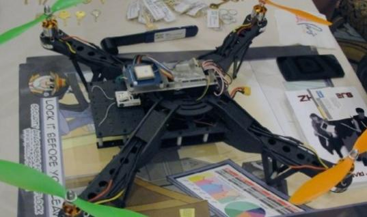 A drone that can steal data just by hovering above you