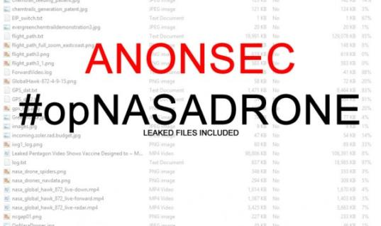 NASA hacked : Anonsec  $222 Million Drone hijacking