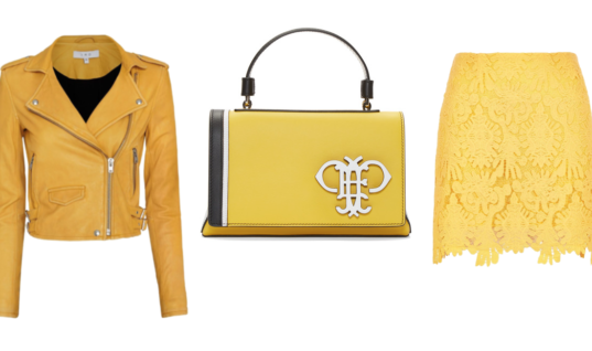 Sunny Yellow Pieces to Put a Kick in Your Step This Season