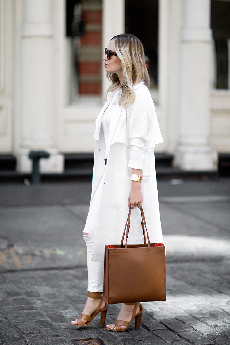White and Tan Outfit Inspiration