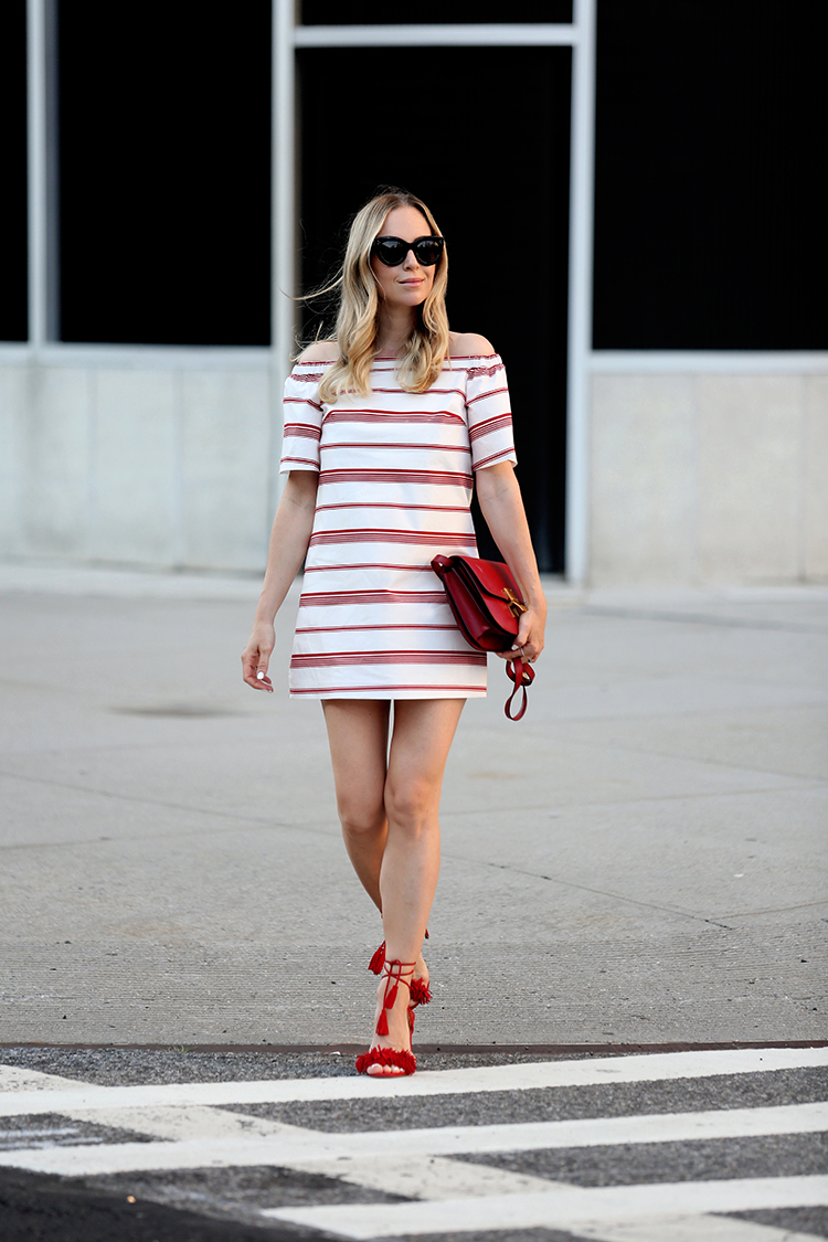 Club Monaco Off the Shoulder Dress