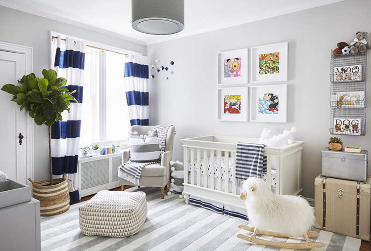 Boys Neutral Nursery - Brooklyn Blonde