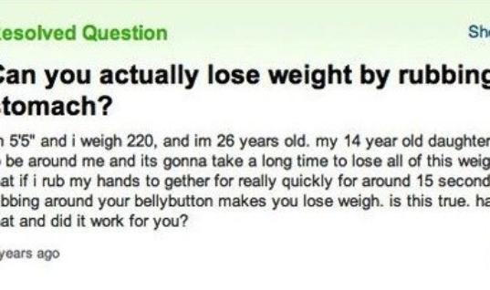 Dumb Yahoo Questions