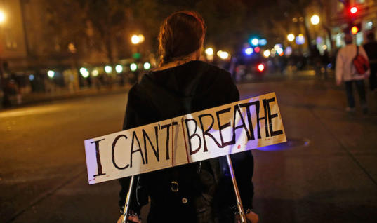 """I can't breathe"" — Eric Garner's Last Words"