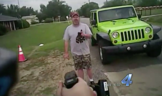 Oklahoma Officer Pulls Out Taser Over Parking Violation