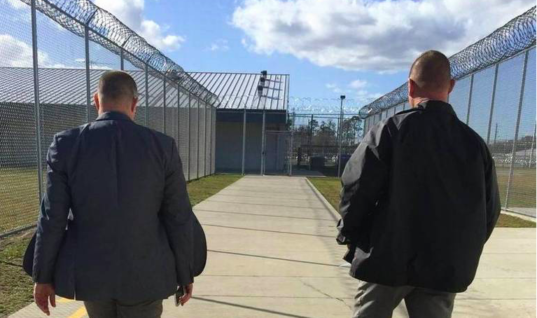 Two Florida Corrections Officers Spray Inmate In The Face and Lock Him In Closet