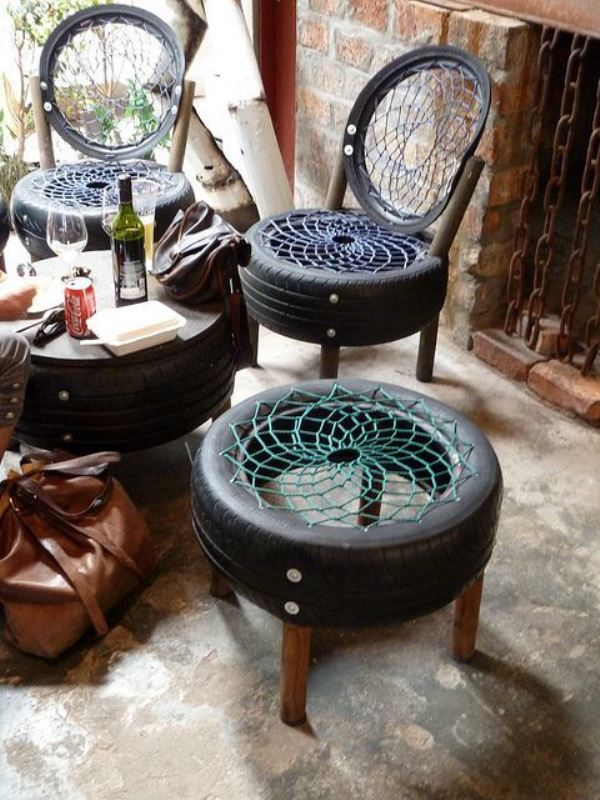 DIY Items Made Out Of Old Car Parts For Your Garden – Mutually
