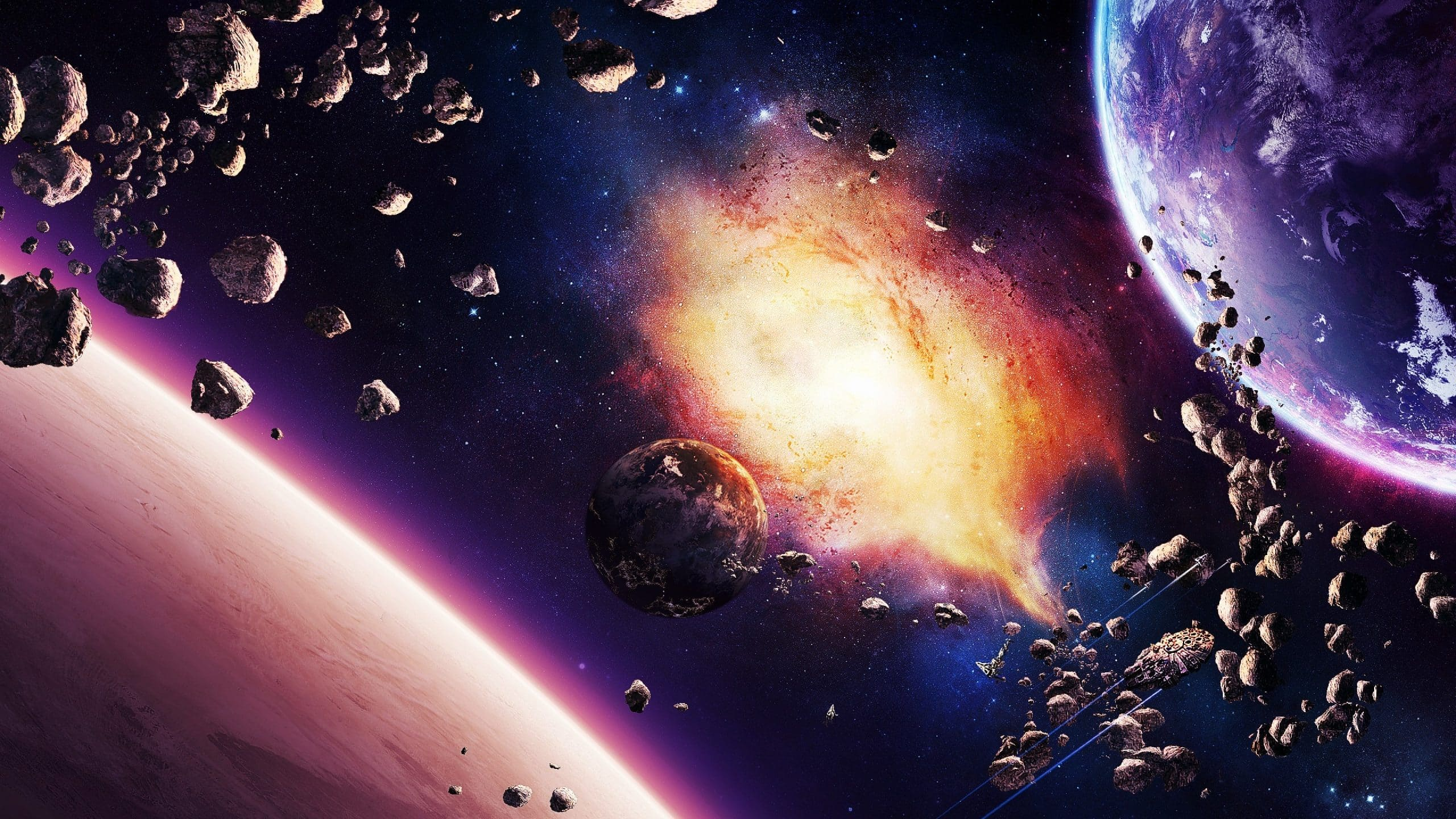 asteroid planet game - HD 1600×1200
