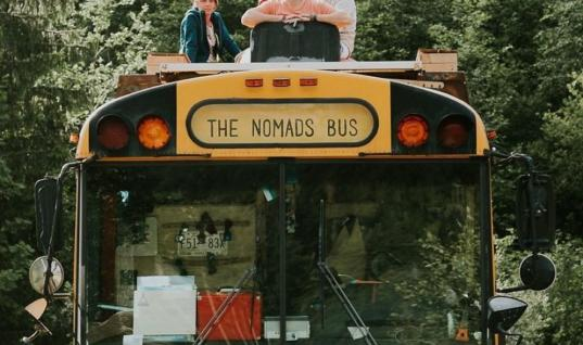 Turning A Bus Into A Hostel Is The Best Idea Ever  This Cool Family Turned A Bus Into A Hostel, How To Travel Cheap And Classy, Take Your Family On An Adventure With This Cool Bus, How To Turn A Bus Into A Home, Travel The World In This Awesome Bus Turned Into A Hostel, This Family Took Traveling To The Next Level, Travel Like A Boss In This Bus Turned Into A Hostel, Would You Travel On This House On Wheels?, The Most Impressive Hostel That Will Take You Anywhere You Want
