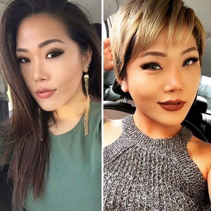 25 Shocking Before And After Pictures Of Haircut Transformations