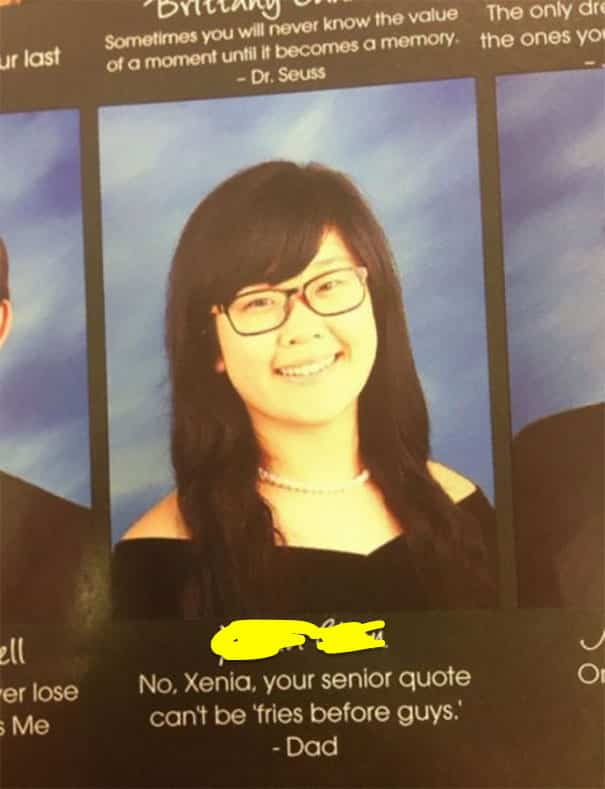 these yearbook quotes will shock you at how funny they are