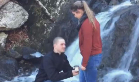 It Was Supposed To Be A Romantic Proposal…Then This Happened!
