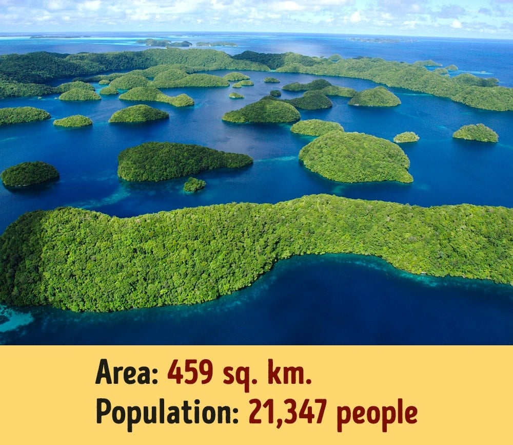 The largest and smallest republic in the Russian Federation