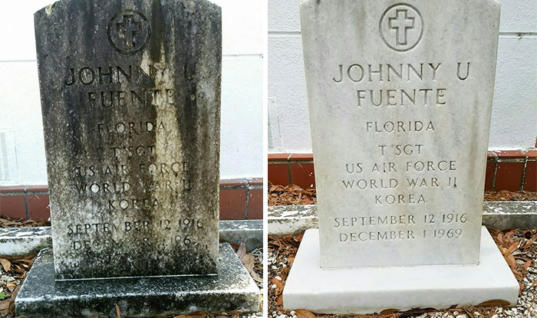 Man Spent Cleaning Off Veteran's Tombstones – Here Are The Results
