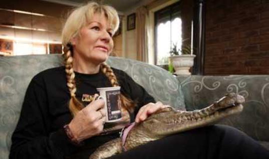 Woman Chooses Pet Crocodile Over Husband