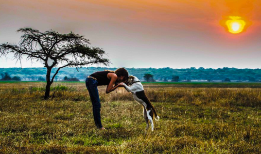She Rescued A Dog In Africa, Now They're Traveling The World Together