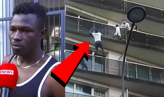 African Immigrant Climbed 4 Floors With His Bare Hands To Save A 4-Year-Old Boy