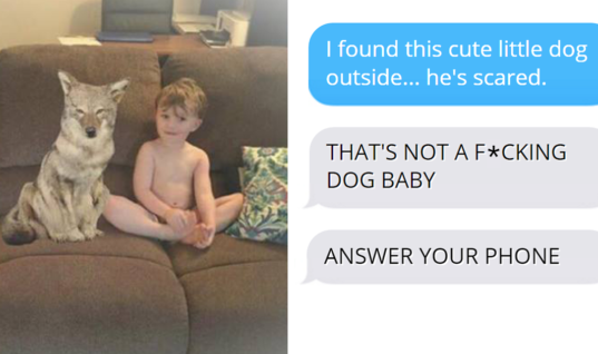Wife Pranks Husband By Sending Pics Of Their New 'Dog', Husband  Won't Stop Panicking