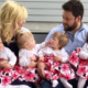 Couple Who Wasn't Able To Conceive For 8 Years Gets Blessed With Quadruplets