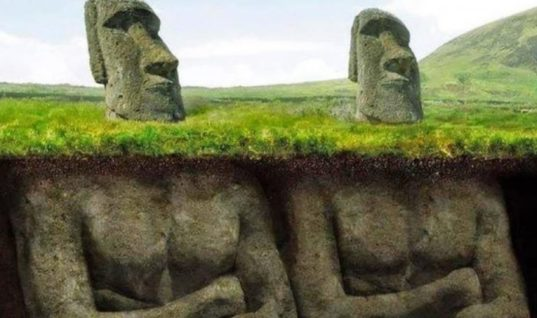 Scientists Decide To Dig Under These Famous Easter Island Heads, What They Saw Has Shook The Whole World