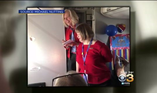Flight Attendant Meets A Woman with Special Needs, But Then She Does the Unthinkable That Leaves the Woman Crying
