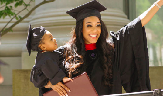Single Mom Beats All Odds And Gets A Harvard Degree, Now Watch What She Has To Say