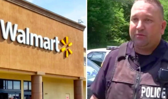 Cop Notices Family Is Not Able To Pay For Groceries At Walmart, But His Reaction Shocked Everyone
