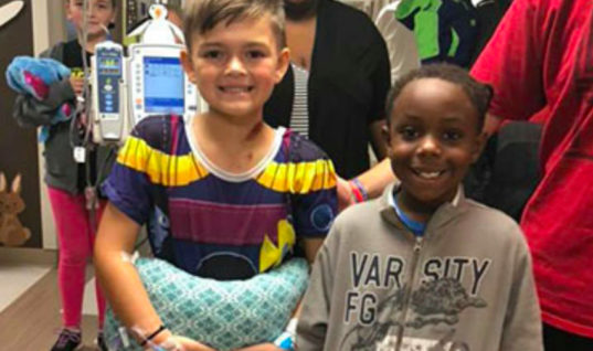 Doctors Told This 7-Year-Old That He Won't Ever Be Able To Walk Again After Car Accident, But His Best Friend Refused To Believe It
